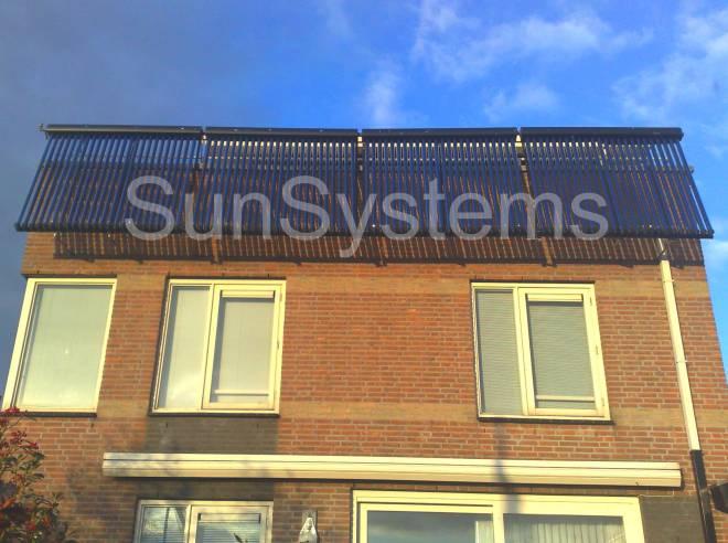 zonneboiler balkon