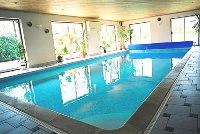 zwembadverwarming binnen zwembad