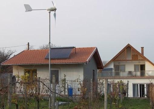 zonnecollector windmolen