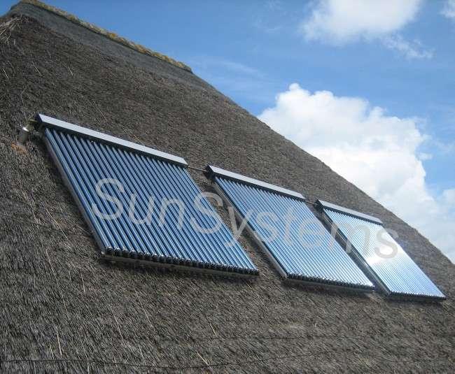 zonneboiler na verwarming
