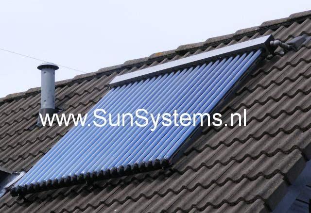 standaard zonneboiler
