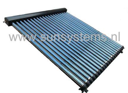 zonneboiler zonnecollector zonnepaneel